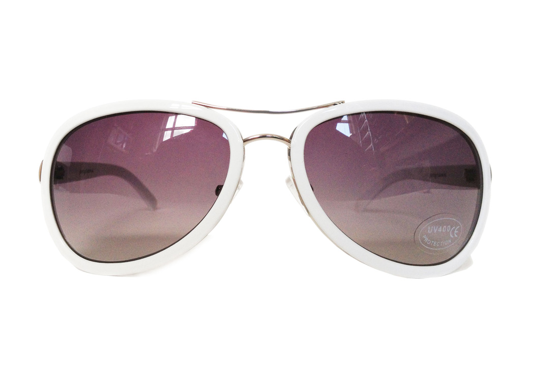 aviator composite sunglasses front view