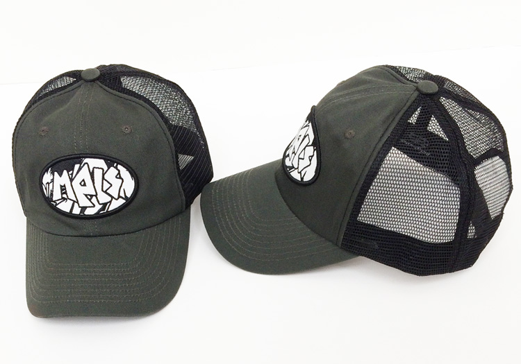 mpls trucker hat black and gray thumb