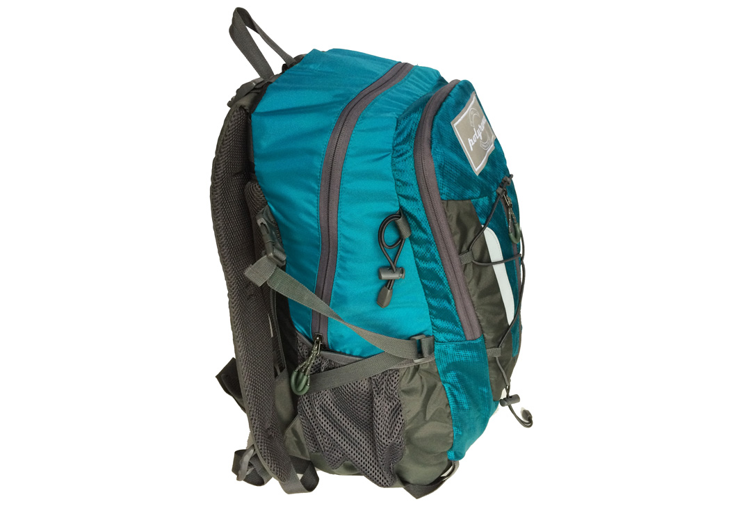 Polyrama Urban and Rugged backpack #2201 side view