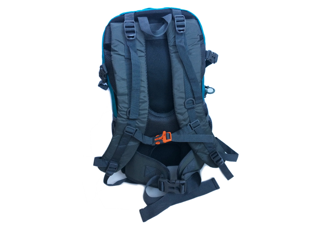 Polyrama Urban and Rugged backpack #2201 strap view